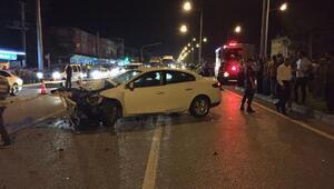 Samsunda kaza : 1 ölü, 6 yaralı