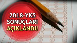 YKS sınav sonuçları ÖSYM tarafından erişime açıldı ÖSYM AYT, TYT sınav sonuçları sorgulama sayfası