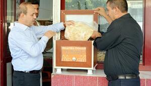 Oğuzeli Belediyesi'nden 'Askıda ekmek projesi'ne destek