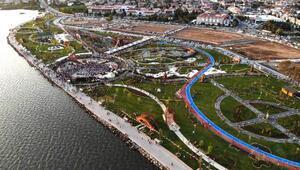 Fethiyede dev park açıldı