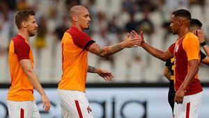 Galatasaray, AEK maçında sınıfta kaldı İşte maçın özeti ve golleri...