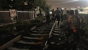 Manisada trenin çarptığı çoban öldü