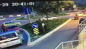 İstanbul'da feci ATV kazası... Sürücü metrelerce havalandı, protez bacağı da koptu