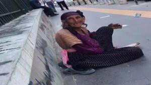 """Dilenciden şok itiraf: """"Günde 500 lira götürüyorum"""""""