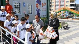 Mardinli öğrenciler, Çocuk Trafik Eğitim Parkında