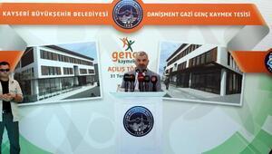 Eskişehir Bağlarında Genç KAYMEK tesisi açıldı