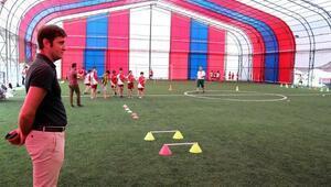 Çerkezköyde Yaz Spor Okullarının ikinci dönemi başladı