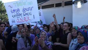 Kırklareli Ovasına kurulacak termik santral protestosunda arbede