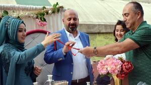 DHA muhabiri Semih Yardımcı evlendi