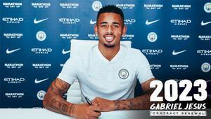 Manchester City, Gabriel Jesusun sözleşmesini uzattı