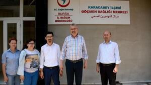 Bursada Suriyeliler için sağlık merkezi açılacak