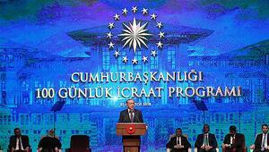 Son dakika... Cumhurbaşkanı Erdoğan 100 günlük eylem planını açıkladı