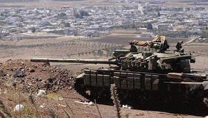 Golan Tepeleri'ne Rus askeri