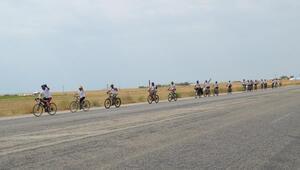 Van Gölüne farkındalık için bisiklet turu