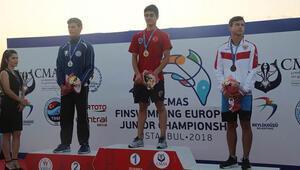 İstanbuldaki şampiyonada paletli yüzmede 14 madalya