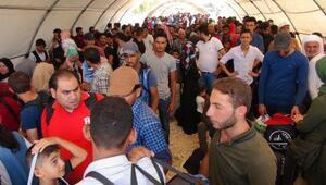 49 bin Suriyeli bayram için ülkesine gidiyor
