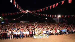 Başkan Sözlü, Kızıldağ Karakucak Güreşlerinde vatandaşla buluştu