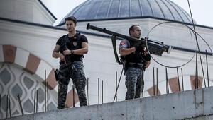Cumhurbaşkanı Erdoğanın ziyaretinde dikkat çeken önlem