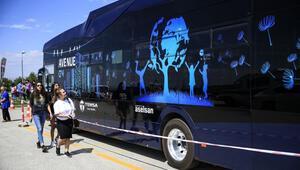 Türkiyenin ilk elektrikli otobüsü Hacettepede