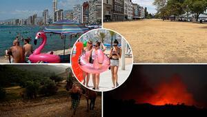 Avrupa yanıyor Son yılların en sıcak yazı