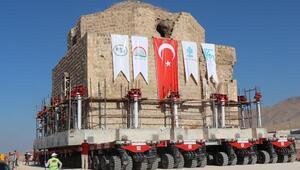 Hasankeyfte tarihi Artuklu Hamamı taşınıyor/ Ek fotoğraflar