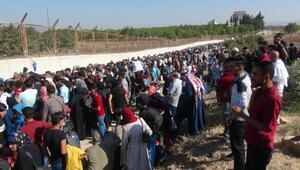 Bayram için ülkesine giden Suriyeli sayısı 7 bini aştı