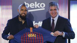 Vidal resmen Barcelonada