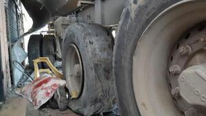 // geniş haber // Başakşehirde ehliyetsiz sürücü hafriyat kamyonuyla dehşet saçtı