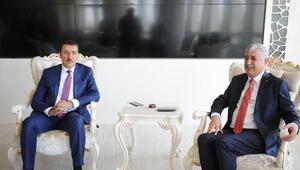 Tüfenkciden, Başkan Polata ziyaret