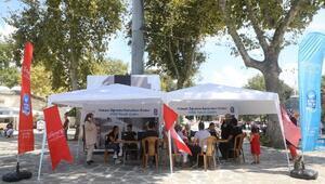 YKS Tercih Çadırı, Eyüp Sultan Camii Meydanında