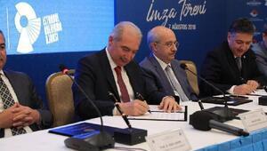Zemin İstanbulda işbirliği protokolü imzalandı