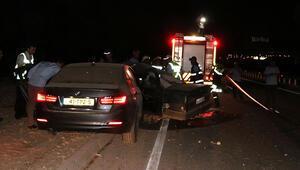 İzinciler kaza yaptı 2 kişi öldü, 4 yaralı