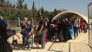 Bayram için ülkesine giden Suriyelilerin sayısı 8 bin 500ü aştı