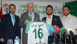 Bursaspora şort sponsorluğu desteği