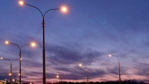 Seydişehirdeki yollara ışıklandırma çalışmaları yapıldı