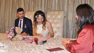 Eskişehirde 63 çift, 08.08.2018de nikah kıydırdı