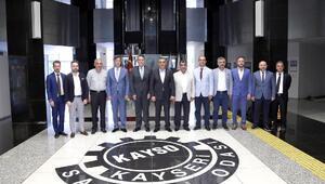 AKİB Mobilya İhracatçıları Birliği'nden KAYSO'ya ziyaret