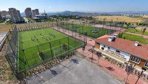 Altındağ'a 6 spor tesisi
