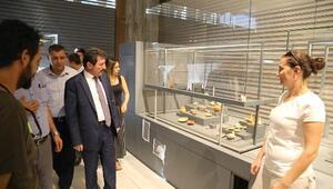Vali Tavlı, Troya Müzesindeki çalışmaları inceledi