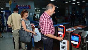 61-65 yaş Ankarakart'a vize indirimi