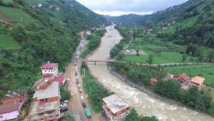 Rize için şiddetli yağış uyarısı