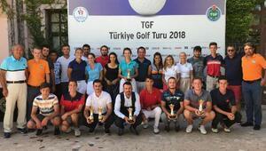 2018 TGF Türkiye Golf Turu şampiyonları belli oldu