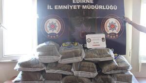 Edirnede uyuşturucu operasyonu: 10 gözaltı