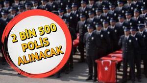 Polis Akademisi 2500 polis alımı başvurusu nasıl yapılacak EGM polis alımı başvuru şartları nelerdir
