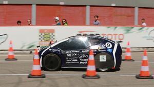 Sürücüsüz araç yarışında YTÜ birinci