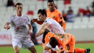 Sivasspor evinde Alanyasporu 1-0 mağlup etti