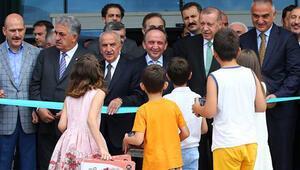 Cumhurbaşkanı Erdoğan Rizede açılışa katıldı