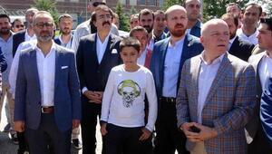 Bilal Erdoğan, Türk Oyunları Festivaline katıldı