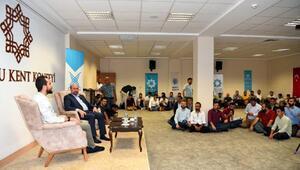 Başkan Pekyatırmacı, sanayi çalışanı gençlerle bir araya geldi