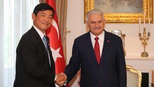 TBMM Başkanı Yıldırım, Japonya ve Ürdün Büyükelçilerini kabul etti